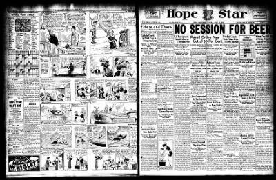 Hope Star from Hope, Arkansas on April 25, 1933 · Page 1