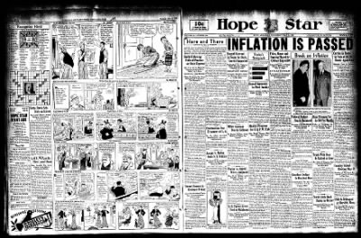 Hope Star from Hope, Arkansas on May 3, 1933 · Page 1