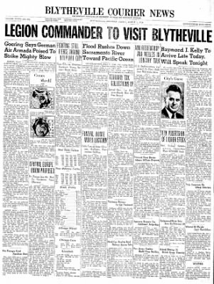 The Courier News from Blytheville, Arkansas on March 1, 1940 · Page 1