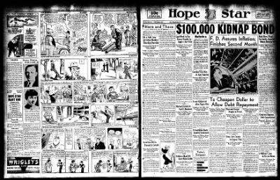 Hope Star from Hope, Arkansas on May 8, 1933 · Page 1