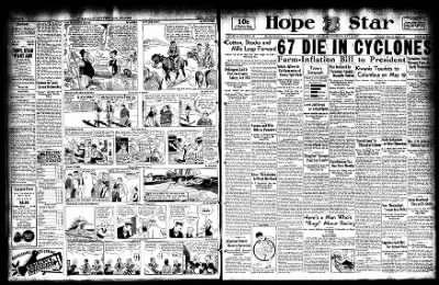 Hope Star from Hope, Arkansas on May 10, 1933 · Page 1