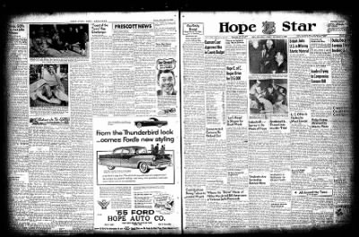 Hope Star from Hope, Arkansas on November 16, 1954 · Page 1