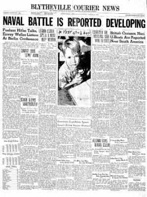 The Courier News from Blytheville, Arkansas on March 2, 1940 · Page 1