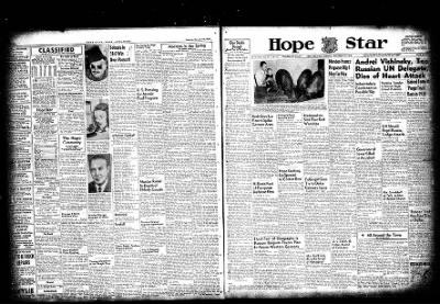 Hope Star from Hope, Arkansas on November 22, 1954 · Page 5