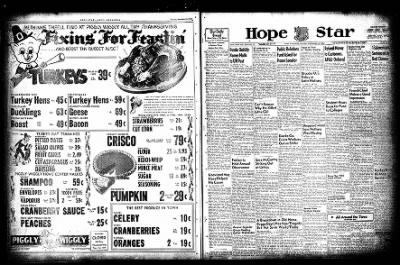 Hope Star from Hope, Arkansas on November 23, 1954 · Page 2