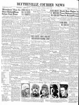 The Courier News from Blytheville, Arkansas on March 5, 1940 · Page 1