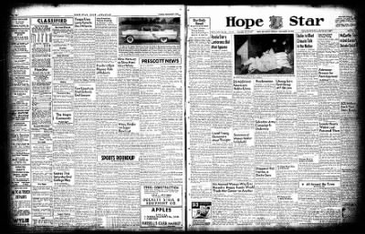 Hope Star from Hope, Arkansas on November 29, 1954 · Page 3