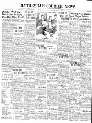 The Courier News from Blytheville, Arkansas on March 6, 1940 · Page 1