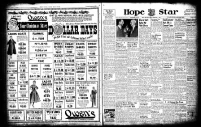 Hope Star from Hope, Arkansas on December 3, 1954 · Page 3