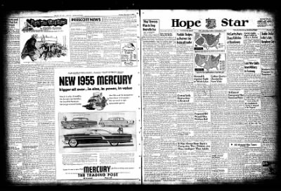 Hope Star from Hope, Arkansas on December 6, 1954 · Page 18