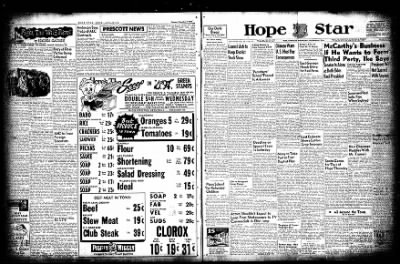 Hope Star from Hope, Arkansas on December 8, 1954 · Page 1