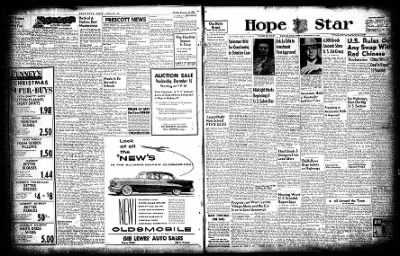 Hope Star from Hope, Arkansas on December 14, 1954 · Page 2