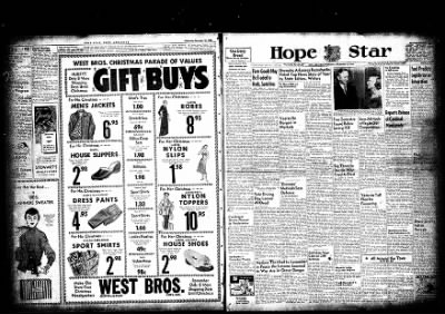 Hope Star from Hope, Arkansas on December 16, 1954 · Page 2