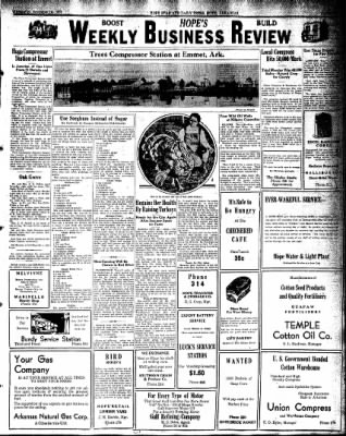 Hope Star from Hope, Arkansas on November 18, 1931 · Page 7