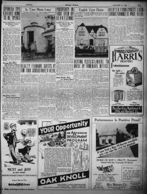 Oakland Tribune from Oakland, California on January 12, 1930 · Page 43