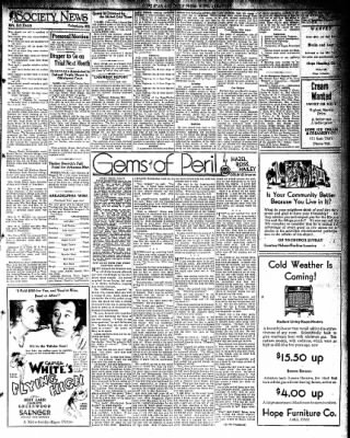 Hope Star from Hope, Arkansas on November 21, 1931 · Page 3