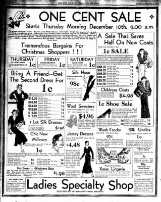Hope Star from Hope, Arkansas on December 9, 1931 · Page 9