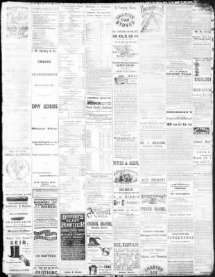 The Atchison Daily Champion From Atchison Kansas On August 6 1872