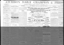 The Atchison Daily Champion