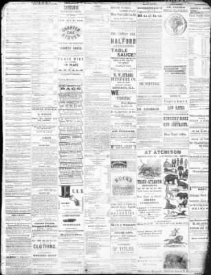 The Atchison Daily Champion From Atchison Kansas On April 17 1873
