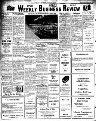 Hope Star from Hope, Arkansas on December 23, 1931 · Page 6