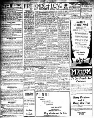 Hope Star from Hope, Arkansas on December 24, 1931 · Page 2