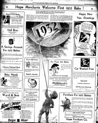 Hope Star from Hope, Arkansas on December 31, 1931 · Page 6