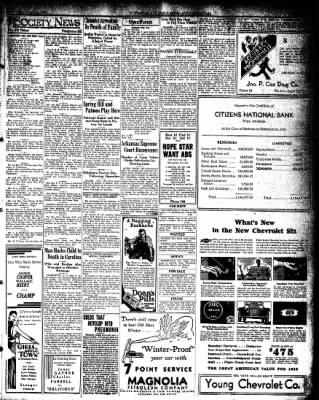 Hope Star from Hope, Arkansas on January 4, 1932 · Page 3