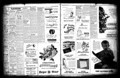 Hope Star from Hope, Arkansas on December 23, 1954 · Page 14