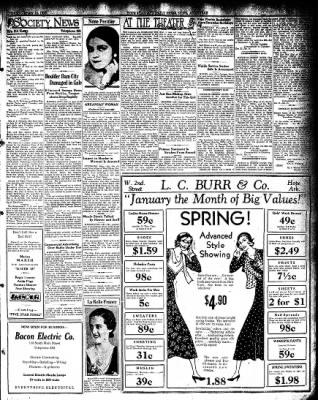 Hope Star from Hope, Arkansas on January 14, 1932 · Page 3
