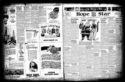 Hope Star from Hope, Arkansas on December 23, 1954 · Page 36
