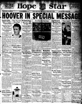 Hope Star from Hope, Arkansas on February 17, 1932 · Page 1