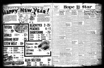 Hope Star from Hope, Arkansas on December 30, 1954 · Page 4