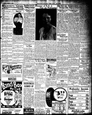 Hope Star from Hope, Arkansas on March 1, 1932 · Page 3