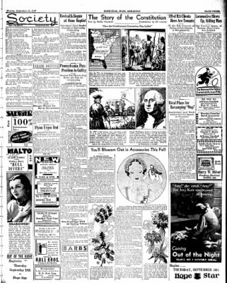 Hope Star from Hope, Arkansas on September 13, 1937 · Page 3