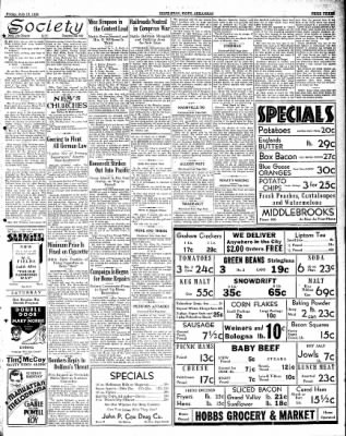 Hope Star from Hope, Arkansas on July 13, 1934 · Page 3