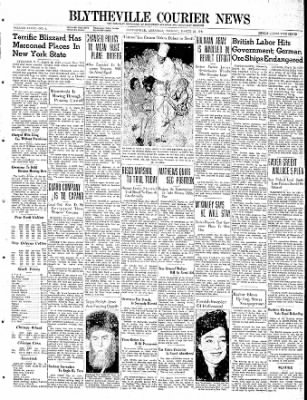 The Courier News from Blytheville, Arkansas on March 26, 1940 · Page 1