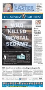 Sample The Star Press front page