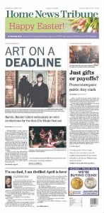 Sample The Central New Jersey Home News front page