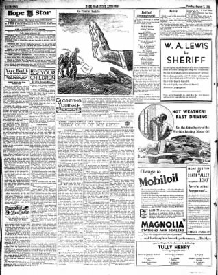 Hope Star from Hope, Arkansas on August 7, 1934 · Page 2