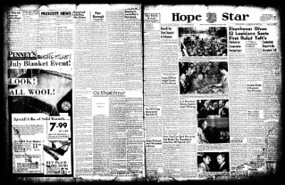 Hope Star from Hope, Arkansas on July 9, 1952 · Page 1