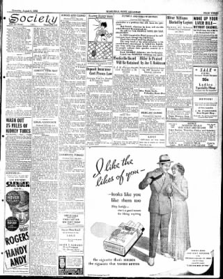 Hope Star from Hope, Arkansas on August 9, 1934 · Page 3