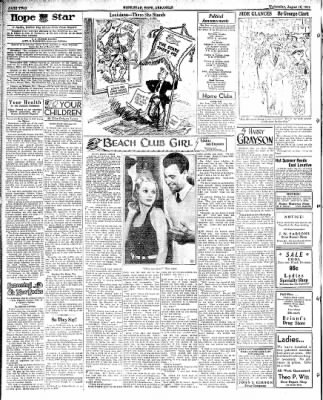Hope Star from Hope, Arkansas on August 15, 1934 · Page 2