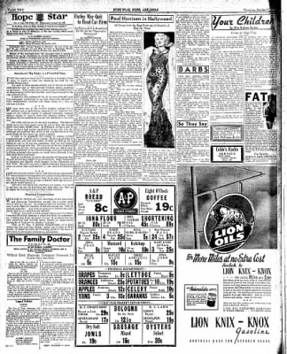 Hope Star from Hope, Arkansas on October 7, 1937 · Page 2