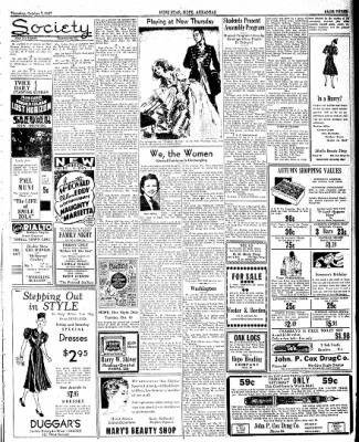 Hope Star from Hope, Arkansas on October 7, 1937 · Page 3