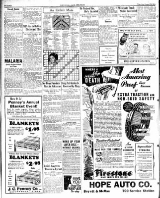 Hope Star from Hope, Arkansas on August 23, 1934 · Page 6