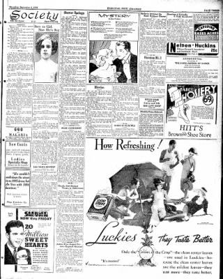 Hope Star from Hope, Arkansas on September 6, 1934 · Page 3