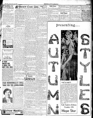Hope Star from Hope, Arkansas on September 13, 1934 · Page 9