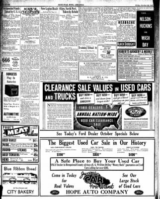 Hope Star from Hope, Arkansas on October 22, 1937 · Page 6