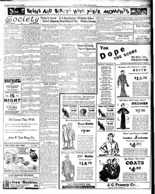 Hope Star from Hope, Arkansas on September 18, 1934 · Page 3